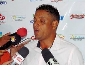 RN - Emanoel Sacramento - técnico do Potiguar de Mossoró (Foto: Marcelo Diaz/Divulgação)