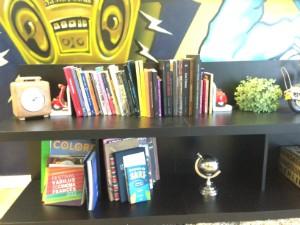 Livros estão disponíveis no espaço Viver RBS (Foto: João Augusto Ferreira/RBS TV)