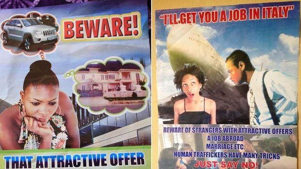 Traficantes buscam meninas que querem viajar e as seduzem com promessas de trabalho e estudo  (Foto: BBC)
