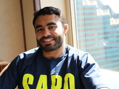 Rafael Sapo Natal UFC 187 (Foto: Evelyn Rodrigues)