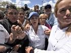 Esposa do prefeito de Caracas pede na ONU a libertação de seu marido