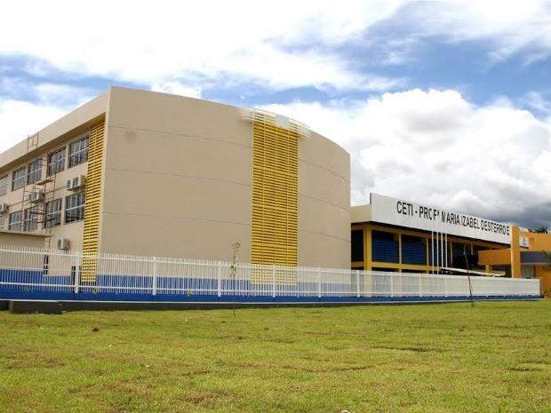 Escola de Tempo Integral em Manaus (Foto: Seduc/Divulgação)