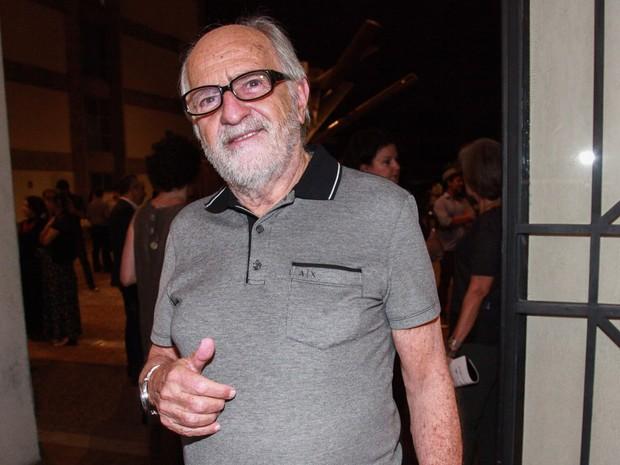 Ary Fontoura em estreia de peça em São Paulo (Foto: Manuela Scarpa e Marcos Ribas/ Brazil News)