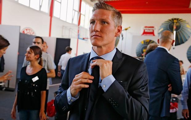 Schweinsteiger Bayern de Munique sessão de fotos (Foto: AFP)