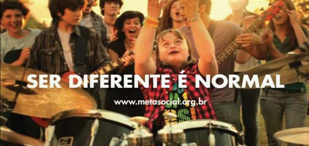 Campanha contra o preconceito a pessoas com deficiência  (Foto: Divulgação)