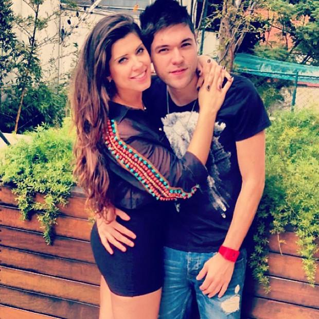 Andressa e Nasser (Foto: Instagram / Reprodução)