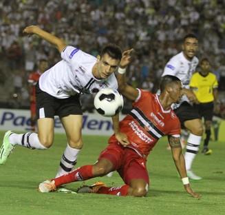 botafogo-pb x river, estádio almeidão (Foto: Francisco França / Jornal da Paraíba)