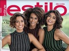 Camila Pitanga, Taís Araújo e Juliana Paes estrelam capa de revista
