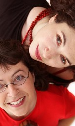 Aurélie & Verioca (Foto: Jean Pierre Gingold/Divulgação)