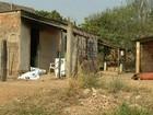 Homem morre e mulher fica ferida após casa pegar fogo, em Luziânia
