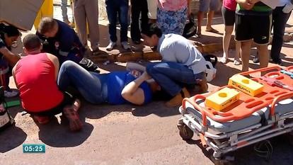 Aumentaram os acidentes com motos em Tangará da Serra