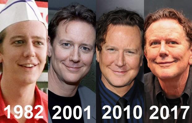 Mudanças no rosto do ator Judge Reinhold (Foto: Reprodução, Getty Images, Getty Images e AKM-GSI)