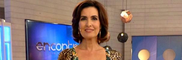 Fátima Bernardes no Encontro (Foto: Divulgação/TV Globo)