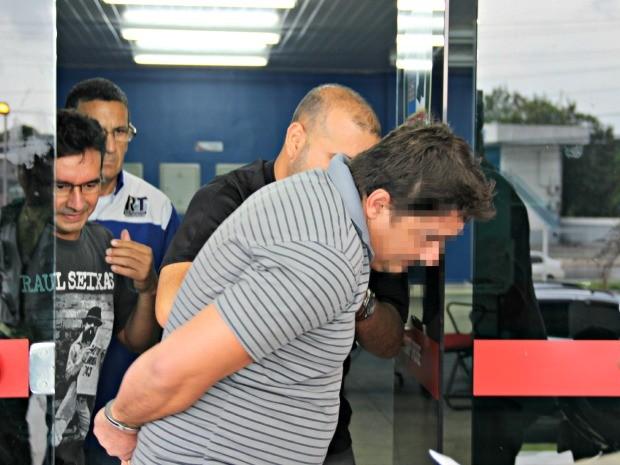 Suspeito teria encomendado crime por conta de brigas com a vítima (Foto: Diego Toledano/ G1 AM)