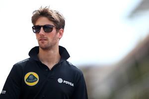 Apesar de problema dramático, Romain Grosjean vê potencial na Lotus para o GP da Espanha (Foto: Getty Images)
