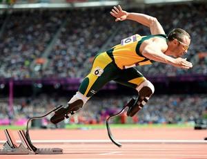 Oscar Pistorius atletismo olimpíadas 2012 (Foto: Reuters)