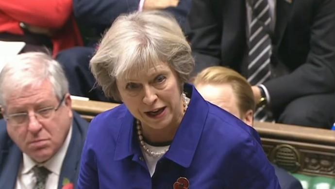 Theresa May (Foto: Reprodução / SporTV)