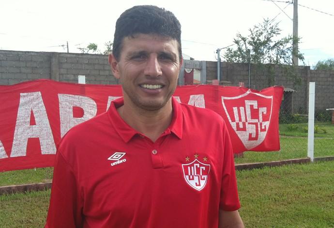 Carlos Calmon Uberaba Sport Módulo 2 2016 USC (Foto: Alex Rocha)