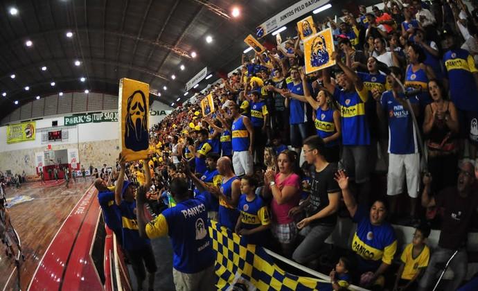 São José Palmeiras jogo 2 NBB Lineu de Moura (Foto: Claudio Capucho/ PMSJC)
