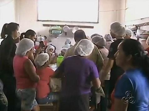 Cursos e palestras estão sendo realizados no Show das Águas (Foto: Bom dia Amazônia)