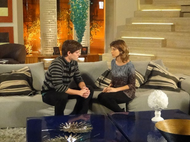 O casamento acabou! Conrado quer se separar de Isadora (Foto: Cheias de Charme / TV Globo)