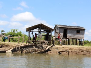Existem sete comunidades quilombolas que sofrerão impacto direto ou indireto do empreendiemnto (Foto: Geovane Brito/G1)
