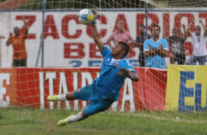 Talles, goleiro do Botafogo-SP (Foto: João Valdevite / Agência Botafogo)