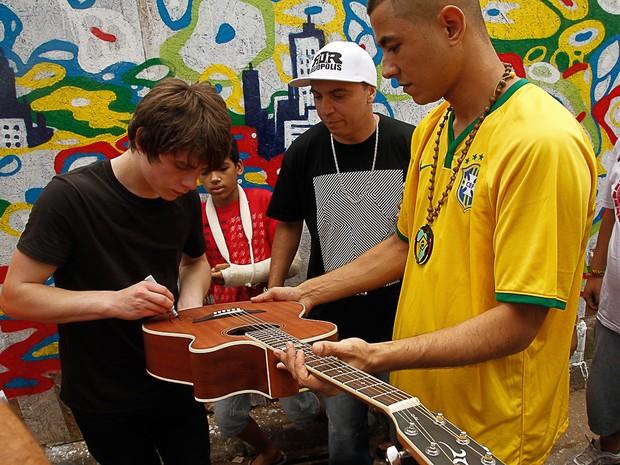 Jake Bugg (Foto: Amauri Nehn/Photo Rio News)