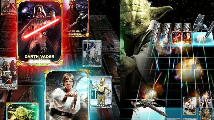 Séries famosas com jogos de cartas: Star Wars the Force Collection (Foto: Divulgação/LucasFilm)