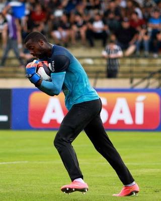 Andrey Ventura, goleiro do São Bento (Foto: Jesus Vicente/ EC São Bento)