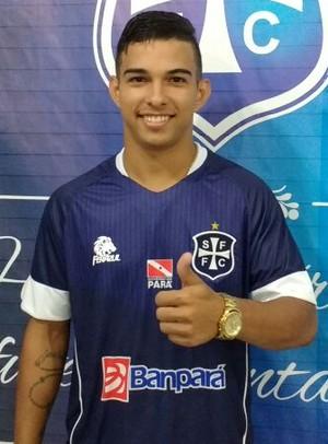 Anderson Bartola, atacante do São Francisco (Foto: Weldon Luciano/Ascom São Francisco F.C.)