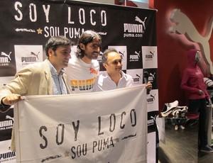 loco abreu botafogo   (Foto: Thales Soares/GLOBOESPORTE.COM)