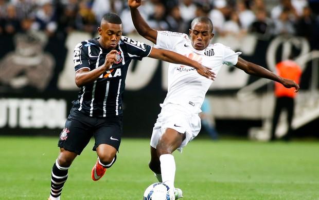 Malcom Corinthians x Santos (Foto: Getty Images)