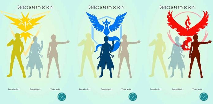 Instinct, Mystic ou Valor? Faça sua escolha (Foto: Reprodução/AndroidCentral)