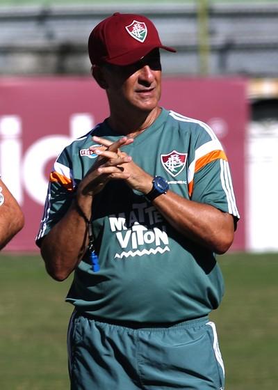 Drubscky treino Fluminense (Foto: NELSON PEREZ/FLUMINENSE F.C.)