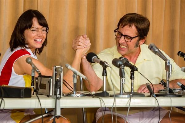 Cena do filme A Guerra dos Sexos (Foto: Reprodução)