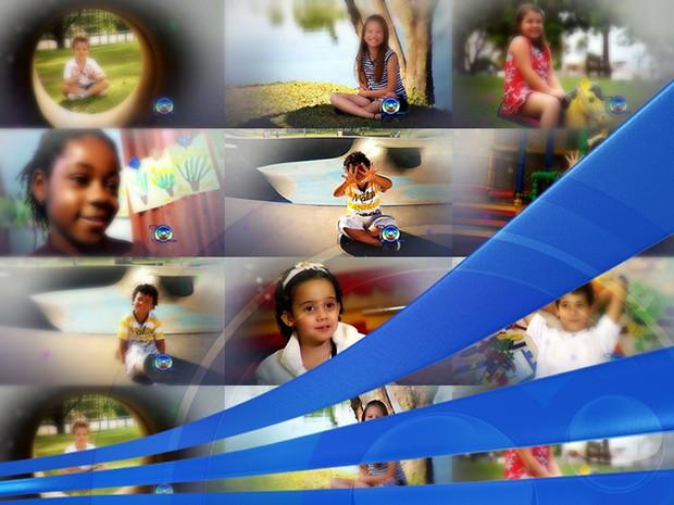 Campanha mostra as expectativas das crianças para os próximos anos (Foto: Reprodução / TV TEM) (Foto: Arte/TV TEM)