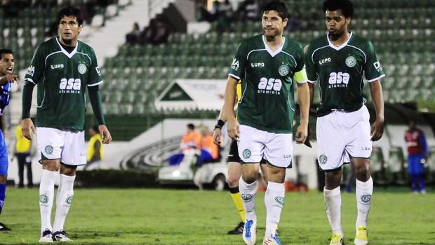 Rodrigo Arroz e André Leone, os mais criticados após a derrota para o Avaí (Foto: Rodrigo Villalba / Memory Press)