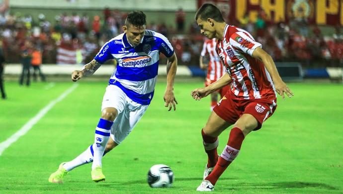 CSA x CRB - Campeonato Alagoano - Hexagonal - Rafael Oliveira - Diego Jussani (Foto: Ailton Cruz/Gazeta de Alagoas)