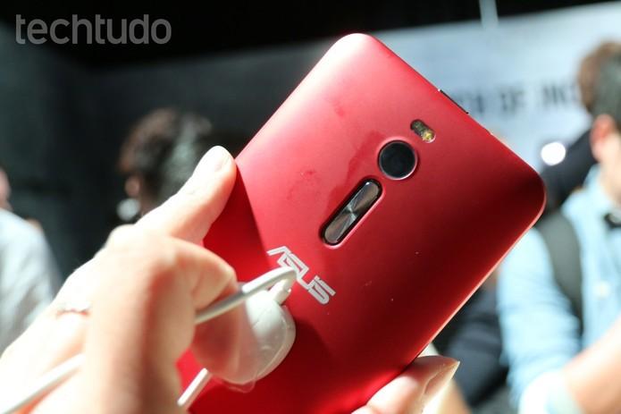 Zenfone 2 tem configurações poderosas, mas preço ainda não foi revelado no Brasil (Foto: Isadora Diaz/TechTudo)