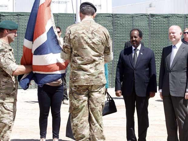 Embaixada britânica na Somália (Foto: Reuters)