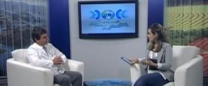 Programa mostrou ações relacionadas ao câncer de próstata e à saúde masculina (Reprodução / TV Diário)