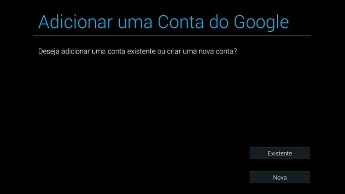 Coloque seu e-mail e senha do Google para usar o BlueStacks (Foto: Reprodução/Tais Carvalho)