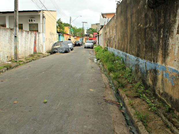 Bryan morreu poucos metros de distância da casa dos proprietários (Foto: Adneison Severiano/G1 AM)