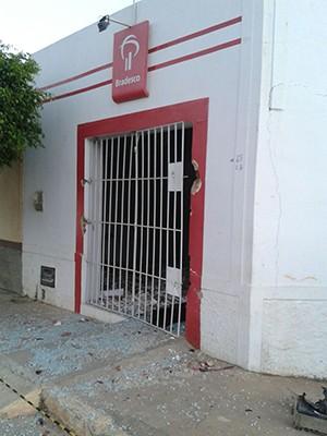 Ação criminosa aconteceu na madrugada desta quinta (8) (Foto: Divulgação/Polícia Militar)