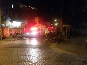Policiamento reforçado no Morro Santa Teresa, em Porto Alegre (Foto: Manoel Soares/RBS TV)