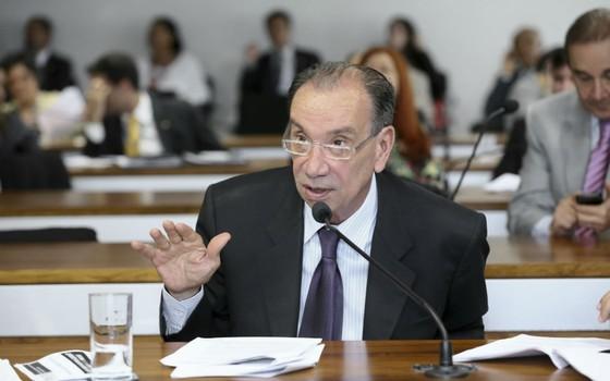 O senador Aloysio Nunes (Foto: Rafael Carvalho/Agência Senado)