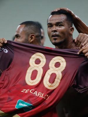 Zé Carlos, Fortaleza (Foto: JL Rosa/Agência Diário)