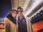 'Vou torcer pelo Chile', diz brasileira casada com Eduardo Vargas