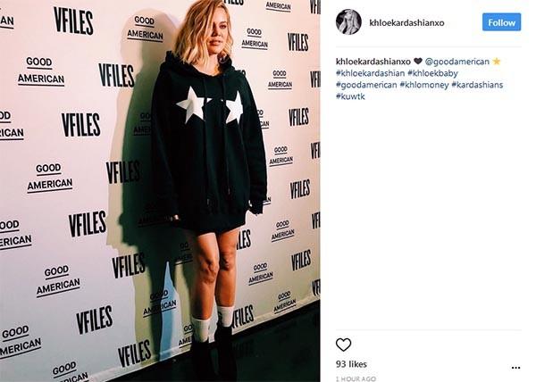 Khloé Kardashian (Foto: Instagram)